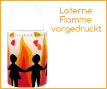 Laterne Flamme