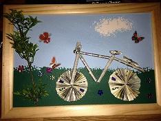 Die bastel elfe das bastelportal mit ideen und einem - Fahrradfelge basteln ...